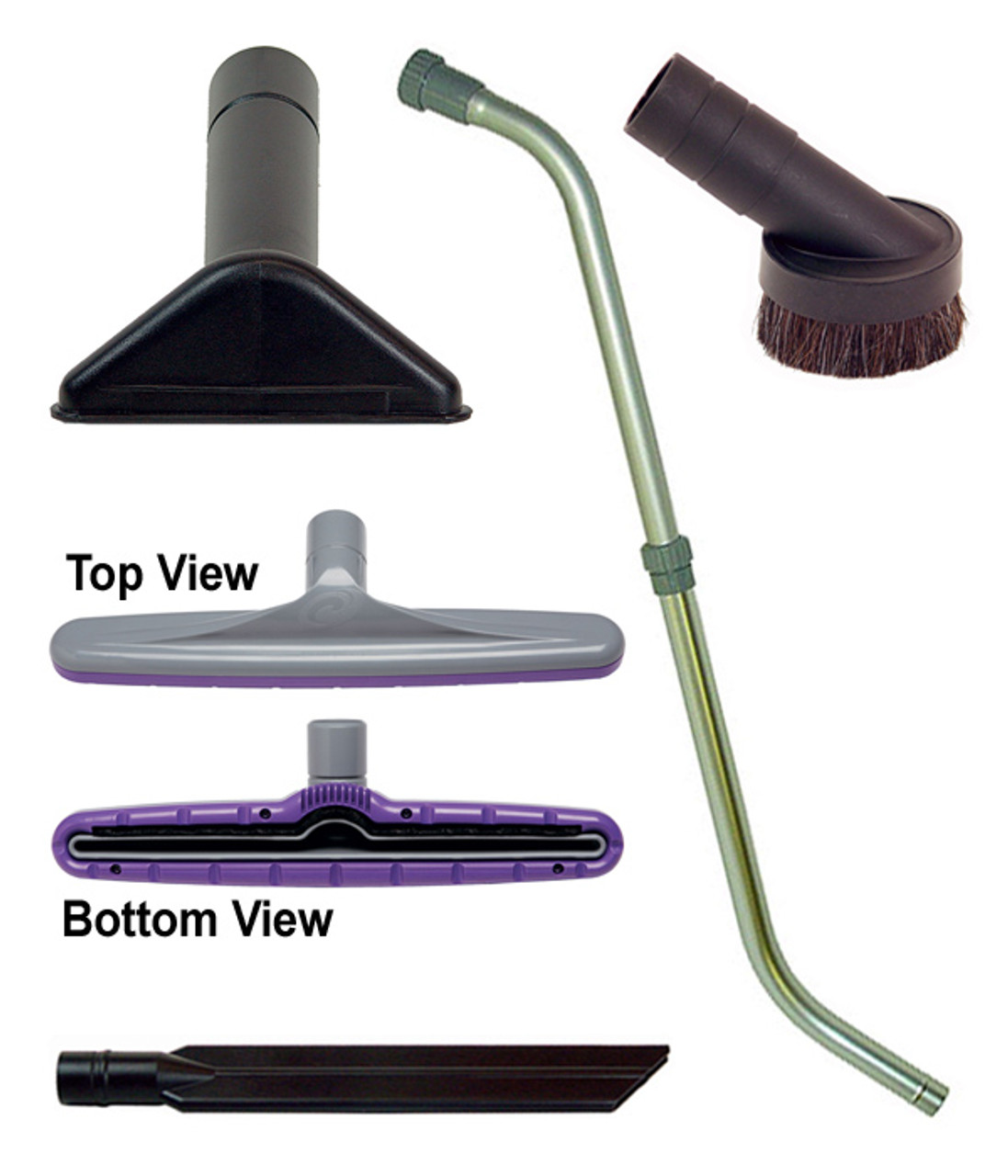 "107100 Xover Floor Tool Kit w/1.5"" Telescoping Wand"