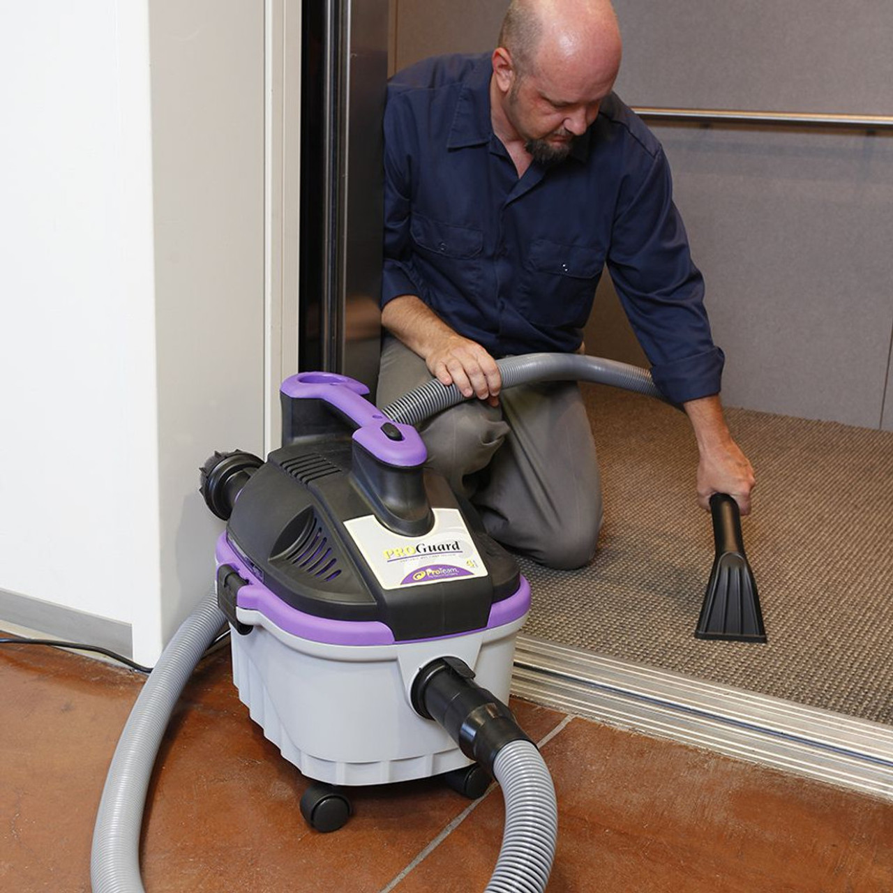 The ProGuard carpet/upholstery claw is great for spot  cleaning.