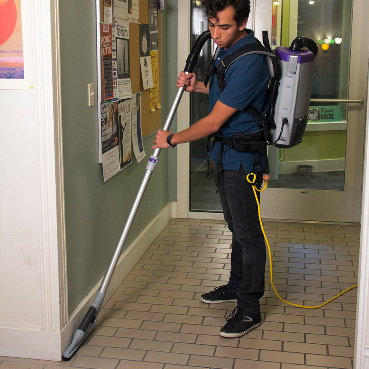 With various accessories, cleaning floors, carpets and getting into corners is a breeze.