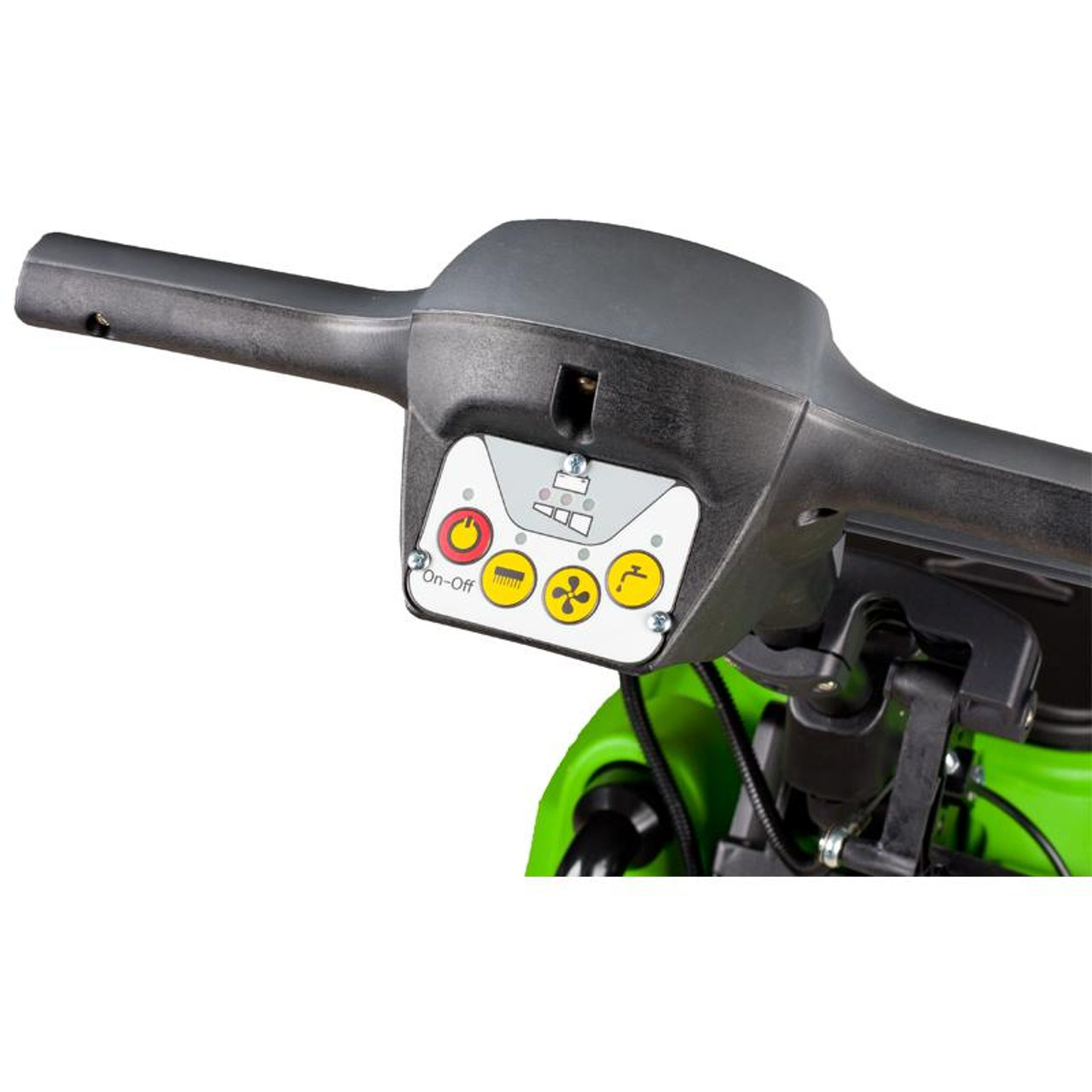 The CT30 Autoscrubber has simple controls built into the handle.