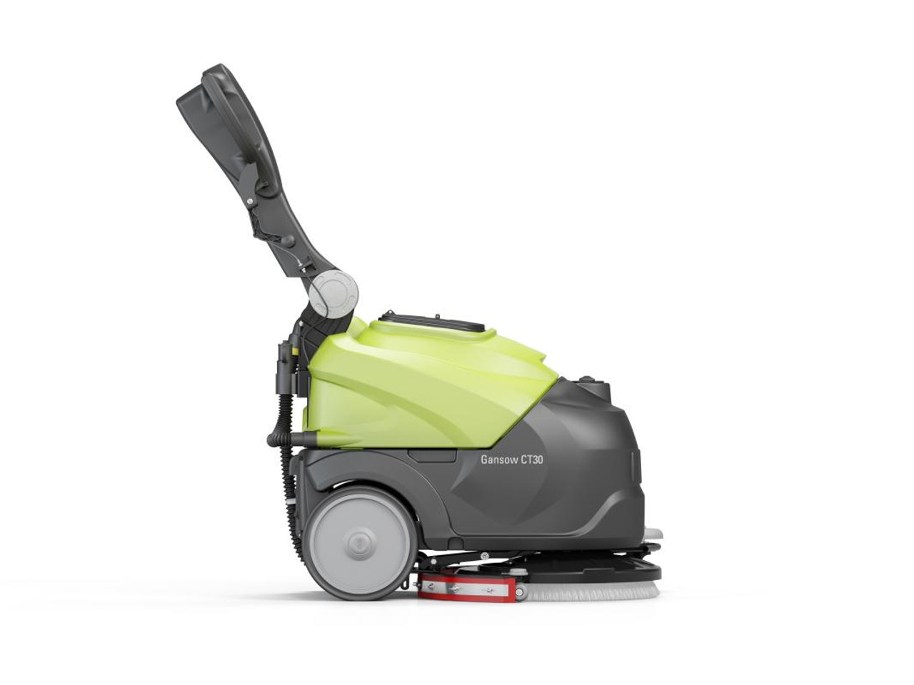 The Cleantime CT30 is compact in size for easy maneuverability