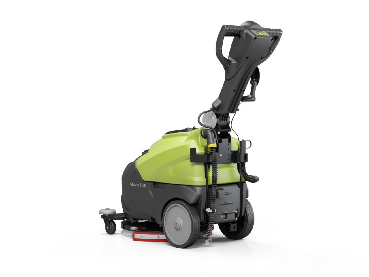 The IPC Eagle CT30 Autoscrubber's size makes it ideal for many situations.
