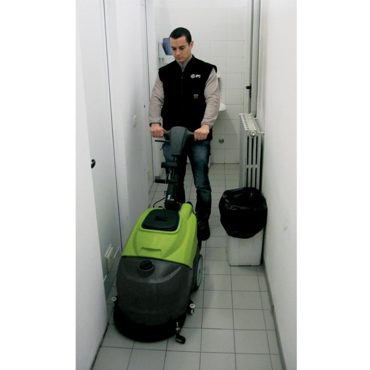 The CT 30 Fits in small spaces.