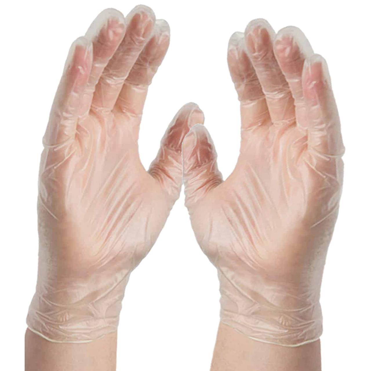 Latex free vinyl gloves meet or exceed ASTM D5250 standards.