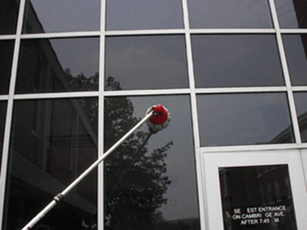Extend MotorScrubber to reach high windows.
