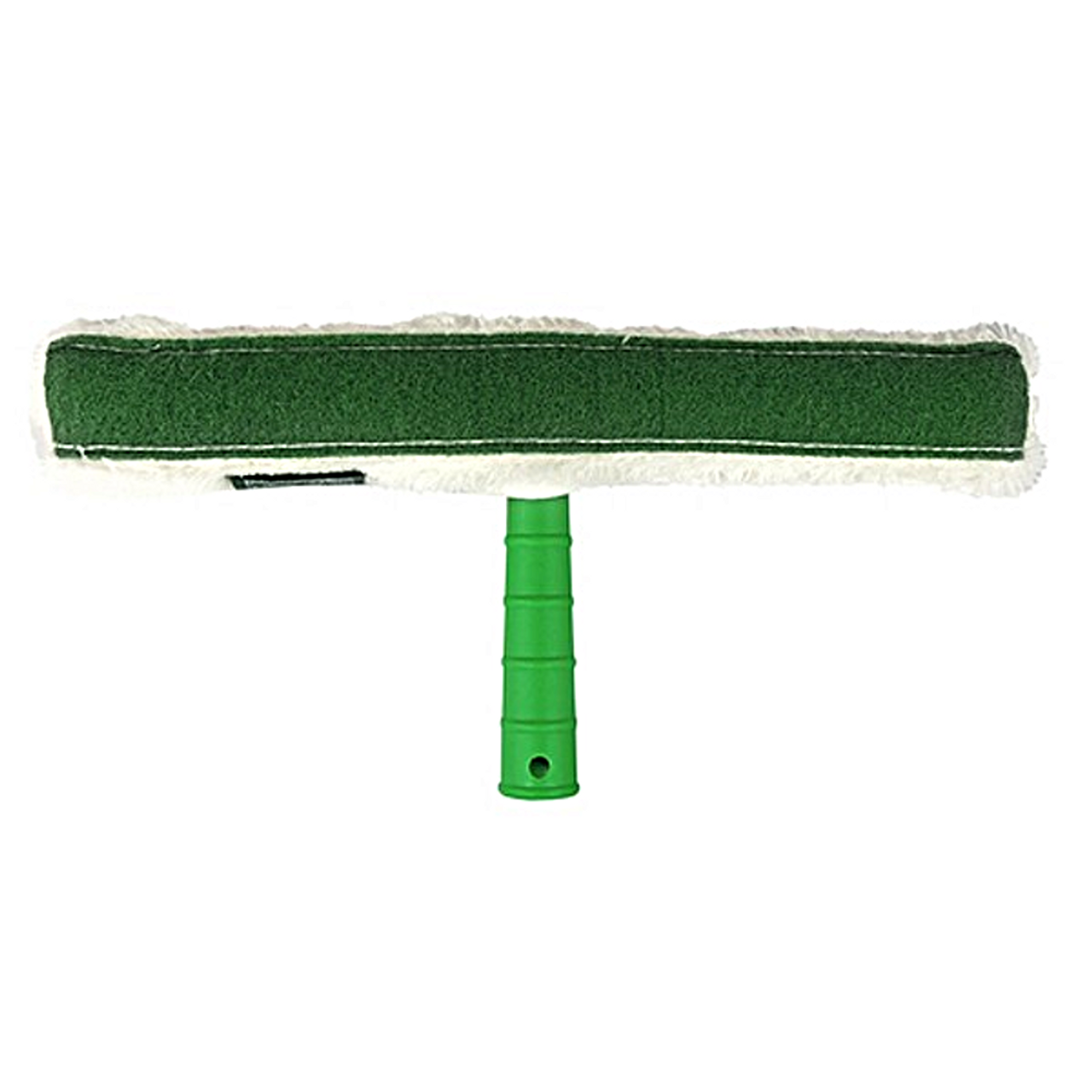 The green scrub pad is great for removing stuck on gunk.