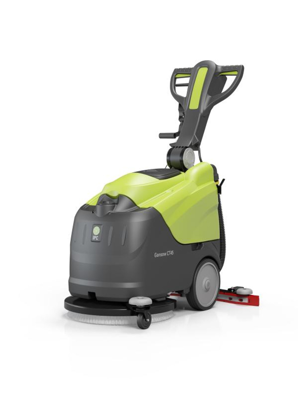 Ergonomic design and and adjustable height handle cut down on operator fatigue.