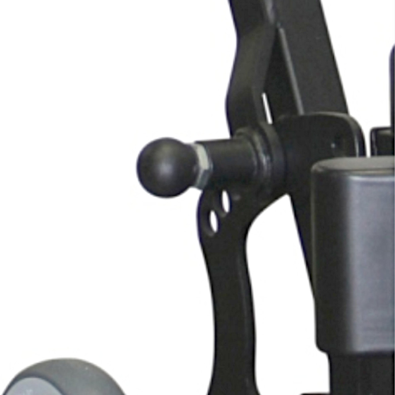 The Mighty features a six position handle with pin lock to adjust for different types of work.