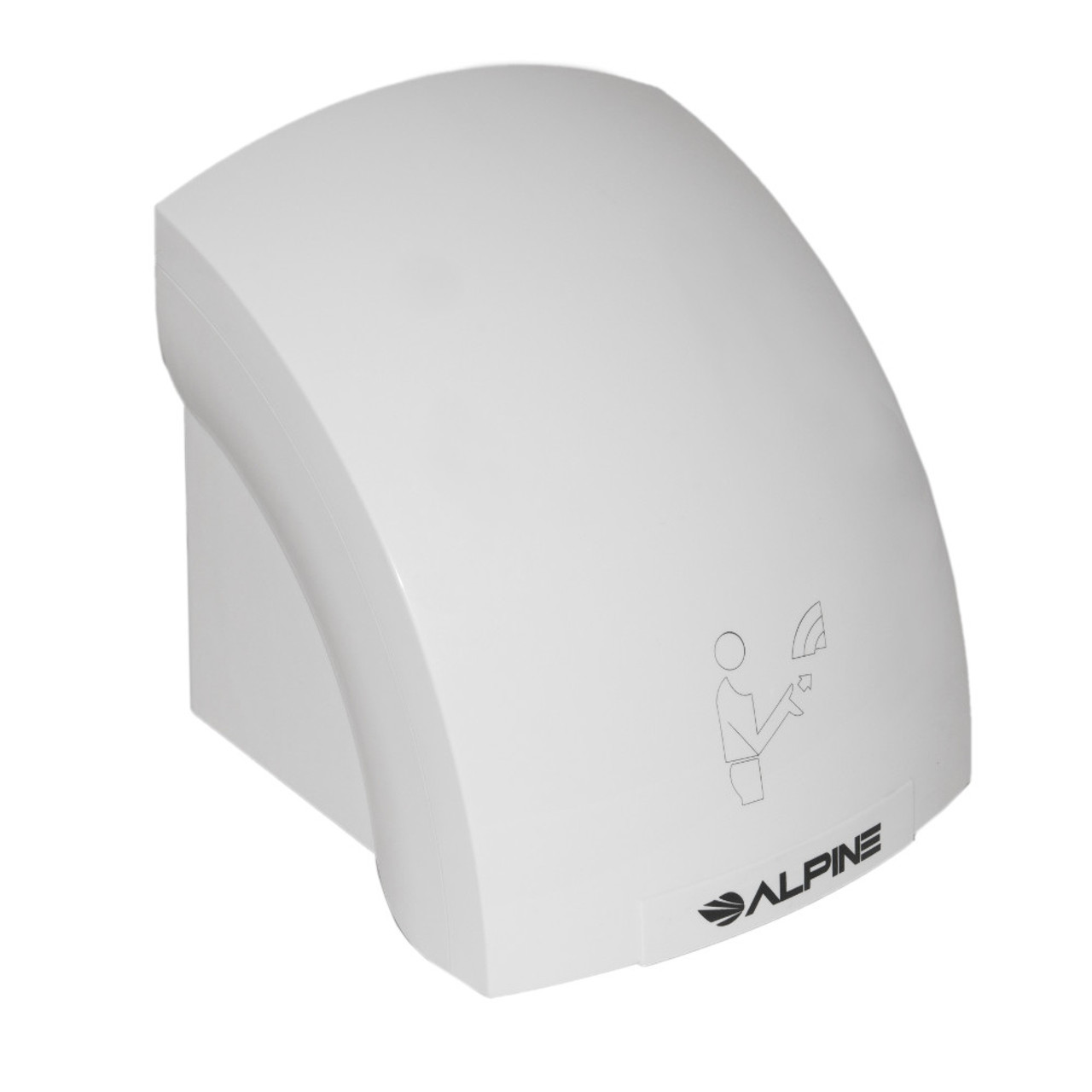 The Alpine Hazel Hand Dryer is economical and can be hard wired or plugged in.