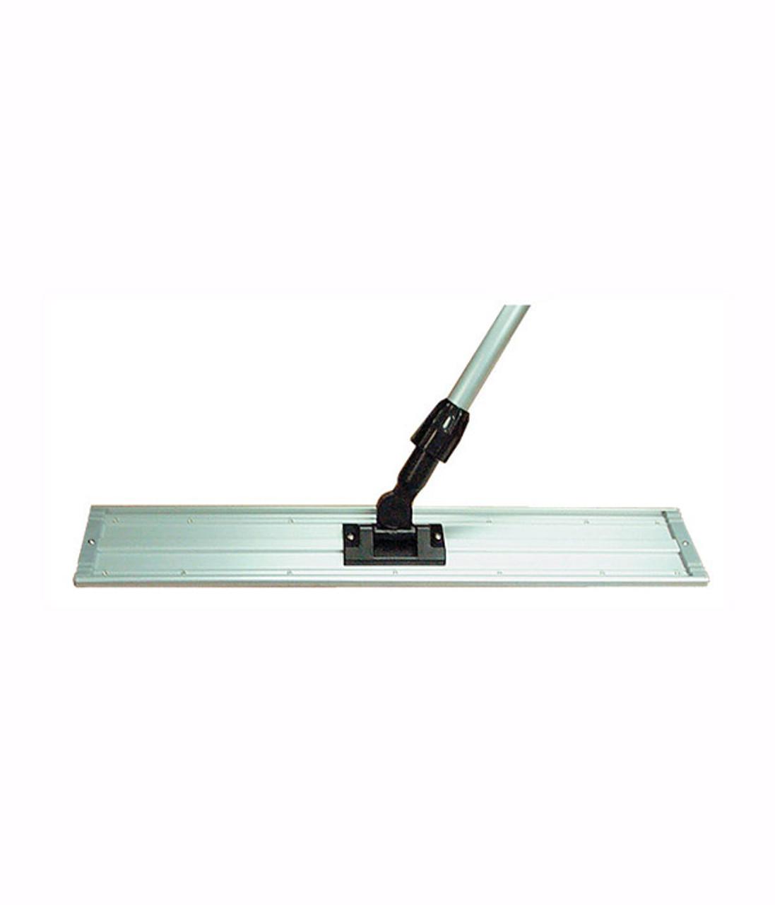 """Sturdy, Aluminum Microfiber Pad Holder Holds 18"""" microfiber pad."""