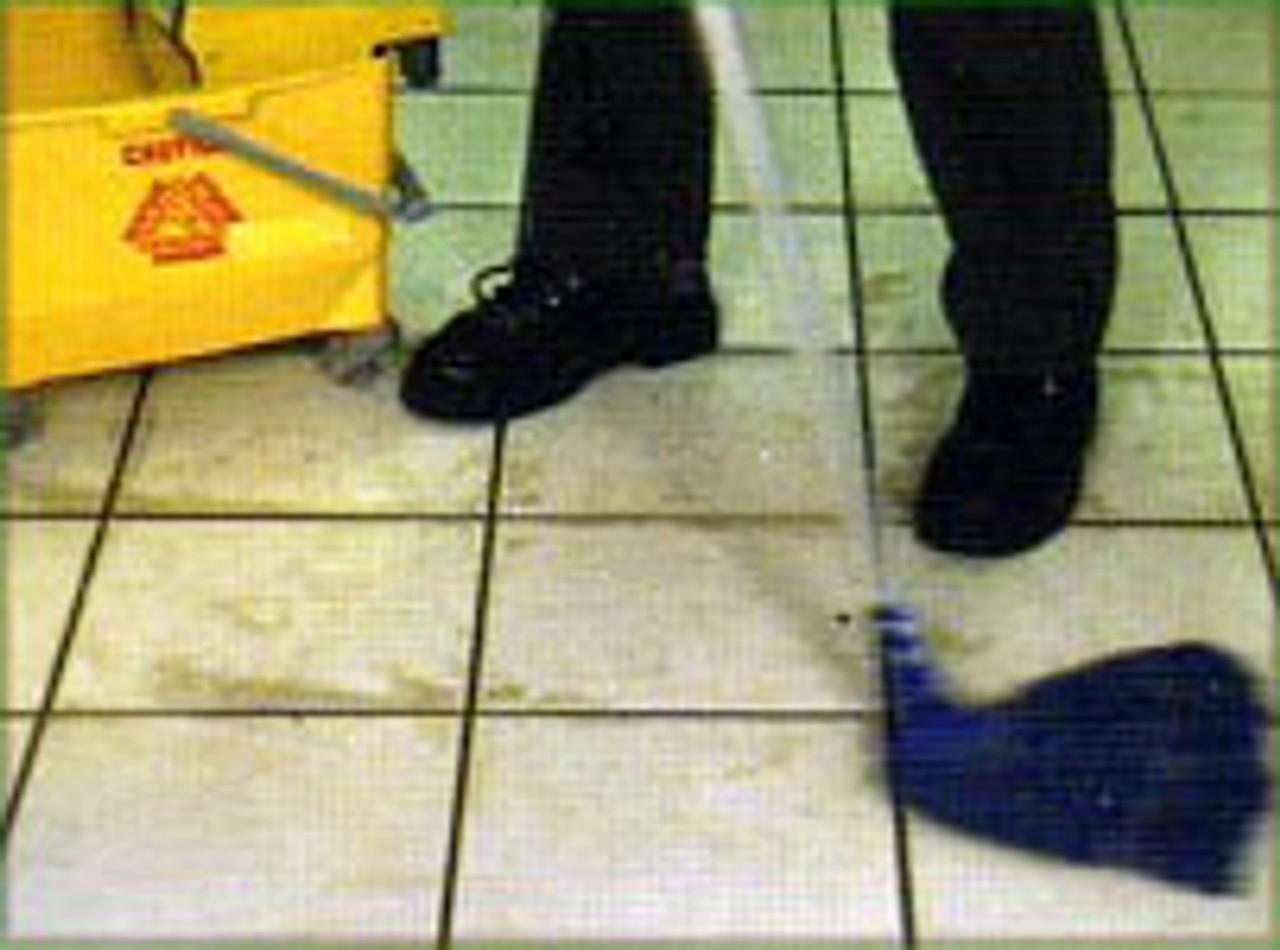 Mop with Clean Water