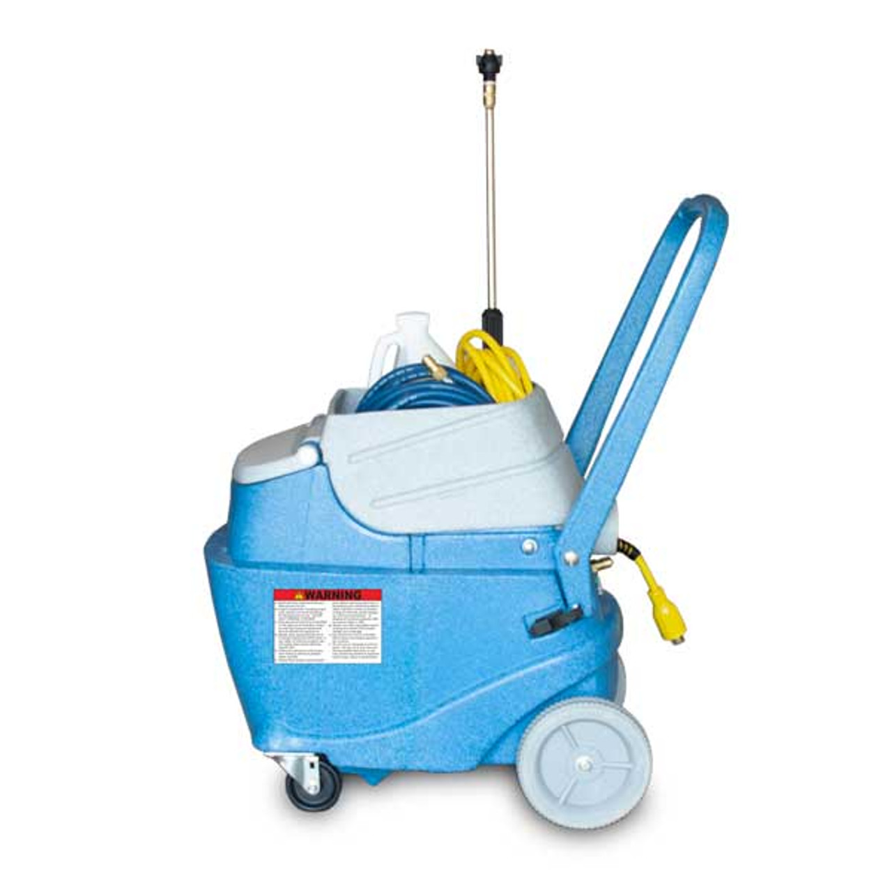 The 220 psi solution pump and 5 gallon capacity greatly increase productivity so you can get the job done quickly.