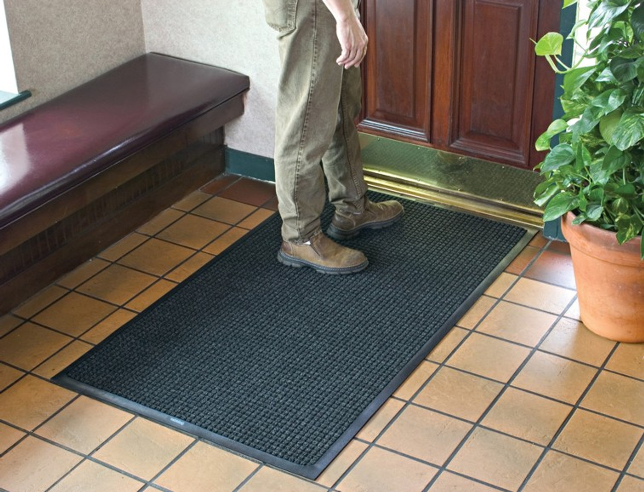 WaterHog Floor Mats are Made to Lay Flat Year after Year!