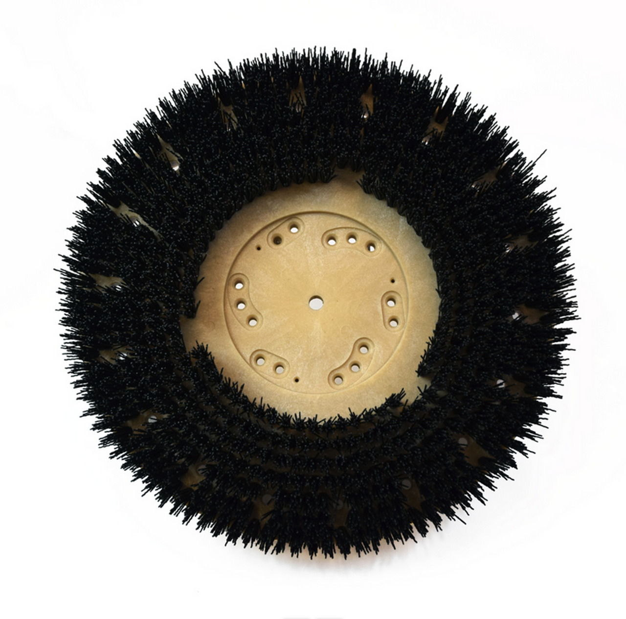 Our most popular grit floor brush! An aggressive brush for general scrubbing or stripping finishes from hard surfaces.