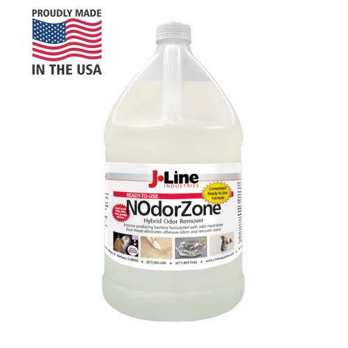 NOdorZone Odor Remover comes in convenient ready to use gallon.