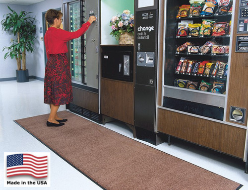 Stylist floor mats retain their good looks in the most heavily trafficked areas of your buildings.