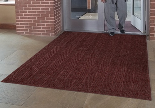 The Eco Elite Fashion is Great as an Indoor or Outdoor Entrance Mat