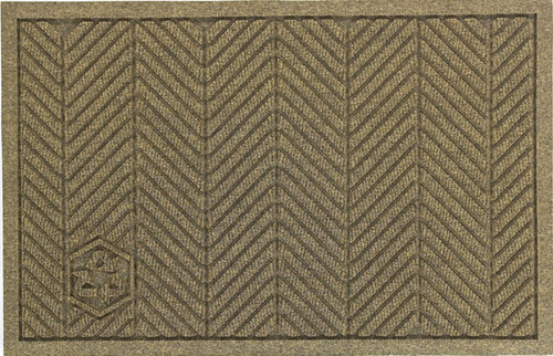 Fabric Border and Herringbone Pattern Dress Up any Floor