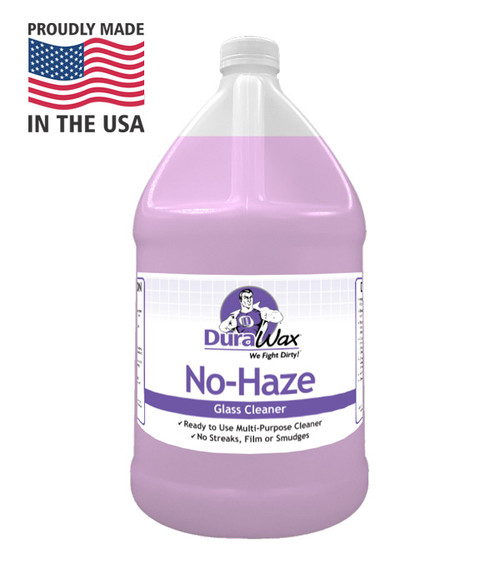 No Haze leaves your windows spotless and streak free.