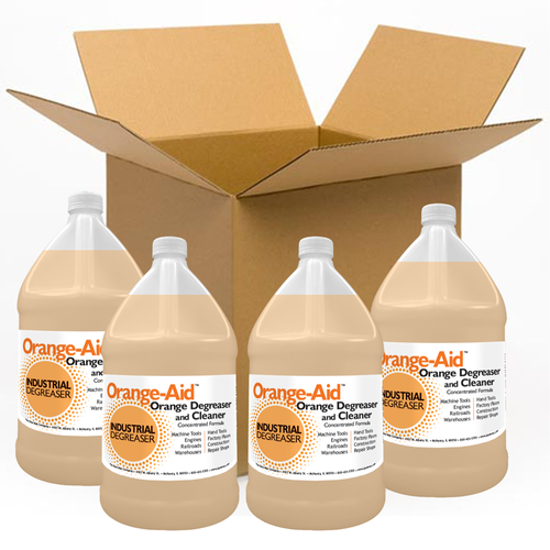 Orange-Aid Industrial Citrus Cleaner Degreaser