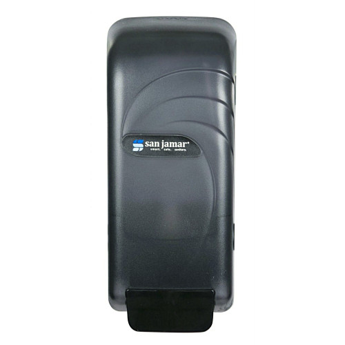 The San Jamar Oceans Soap Dispenser is a a universal dispenser that works with a variety of options for soap and hand sanitizers.