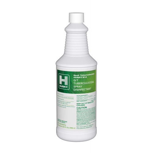 Husky 814 Q/T Tuberculocidal Spray Disinfectant Kills the dreaded Norovirus!