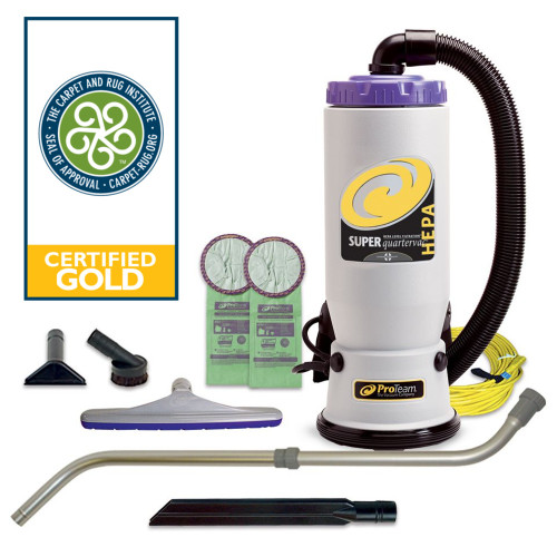 This Super QuarterVac comes with the Xover multi-surface kit so you can clean multiple surfaces from the get go.
