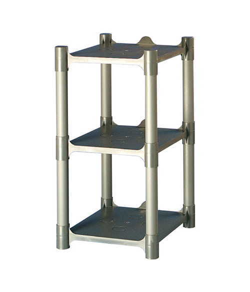 3 Shelf Plastic Storage Rack