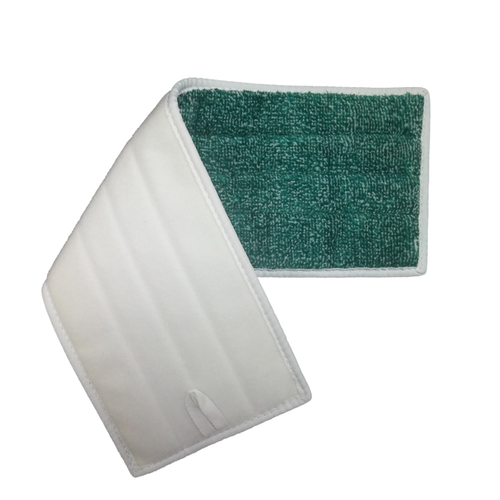 Velcro backing for easy install and removal