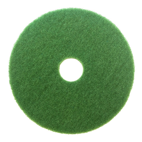 The Dura Wax Green Scrubbing Pad will remove the toughest scuff marks and heavy soild when wet scrubbing.