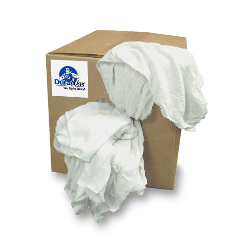10 lb box of an assortment of cotton flannel wiping rags.   Great for a variety of uses!