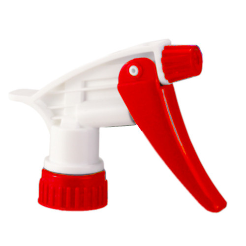 "Red standard trigger sprayers comes in 7-14"" tube length for 22-24 oz bottles"