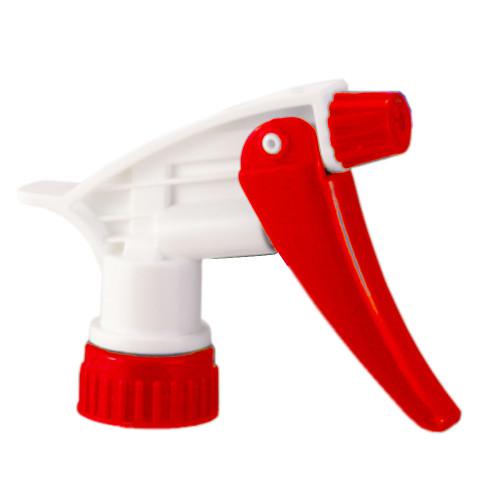 "Red standard trigger sprayers comes in 7-14"" tube length for 22-24 oz bottles"