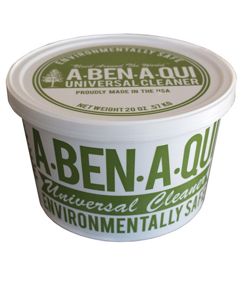 A-ben-a-qui is a non toxic alternative to traditional aerosol all purpose cleaners.