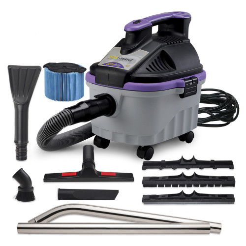 The ProGuard 4 Wet/Dry Vacuum Kit has everything you need to be productive from the start.