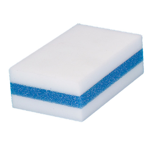 The Mighty Sponge erases marks and stains like magic using just water - no chemicals!