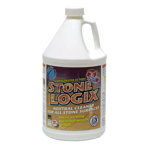 The non-etching formula in Stone Logix keeps stone beautiful for years to come.