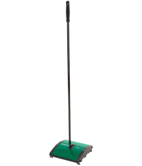 The Bissell BG23 Carpet and Floor Sweeper is great for low pile carpet and bare floors.