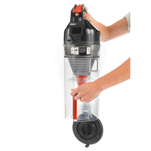 The TaskVac Vacuum Dirt Cup drastically reduces maintenance costs with zero bags to buy.