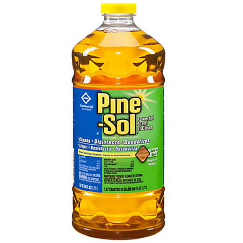 Use Pine-Sol® Commercial Multi-Surface Cleaner on hard, nonporous surfaces, including floors, sinks, counters, stoves, bathtubs, shower stalls, tile, toilets, garbage cans and diaper pails.