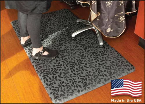 Salon Decor Mats are fashionable and resist high heel marks!