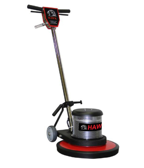 "The 20 "" Hawk 2-Speed Floor Machine doubles your capabilities! Stripping and buffing with one machine."