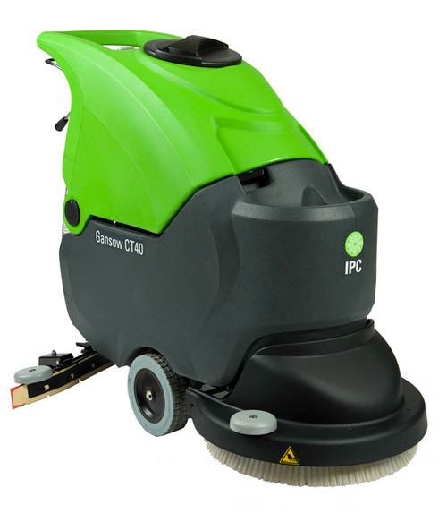 The CT40 Automatic Scrubber is  a workhorse for a variety of industries.