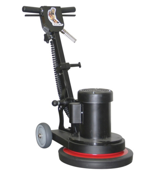 he Hawk Mighty! The compact, lightweight and powerful floor machine with extending handle!
