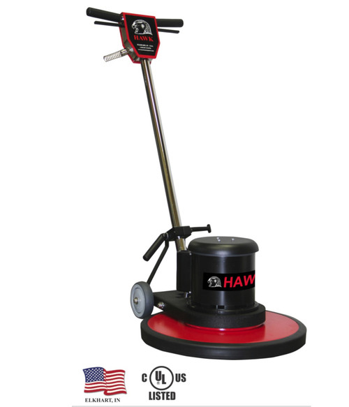 "This 17"" Hawk Floor Machine is a versatile choice for the cleaning professional!"