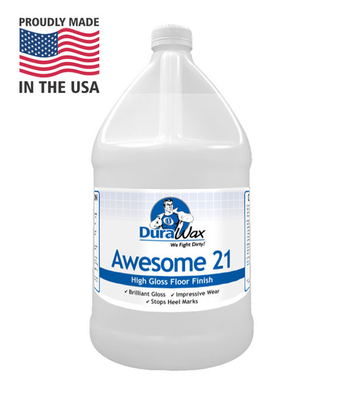 Awesome 21 is Our Most Popular Floor Finish!