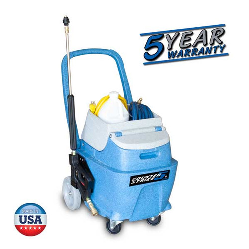 The Counter Strike surface disinfecting system from EDIC is a quick and effective solution for disinfecting surfaces and touch points in public areas. Compatible with most disinfectants; Dura Wax carries several Canberra disinfectants that would work well with the Counter Strike. We recommend Husky 891 Arena Disinfectant Cleaner (Stock # 061201). Several 5 Star Reviews from happy customers!