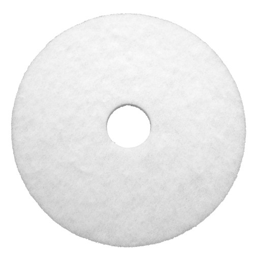 Dura Wax White Polishing Pads are non-abrasive to yield a mirror gloss shine on your floors.