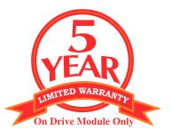 san jamar 5 year warranty