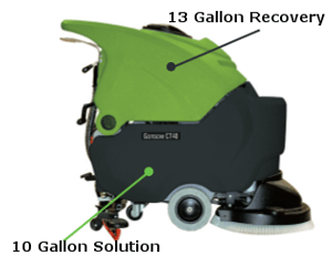 CT40 Solution and Recovery Tanks